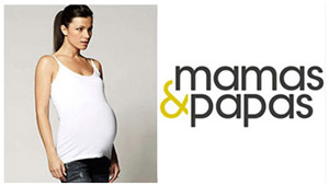 Fake Pregnant Belly by Moonbump, Mamas & Papas