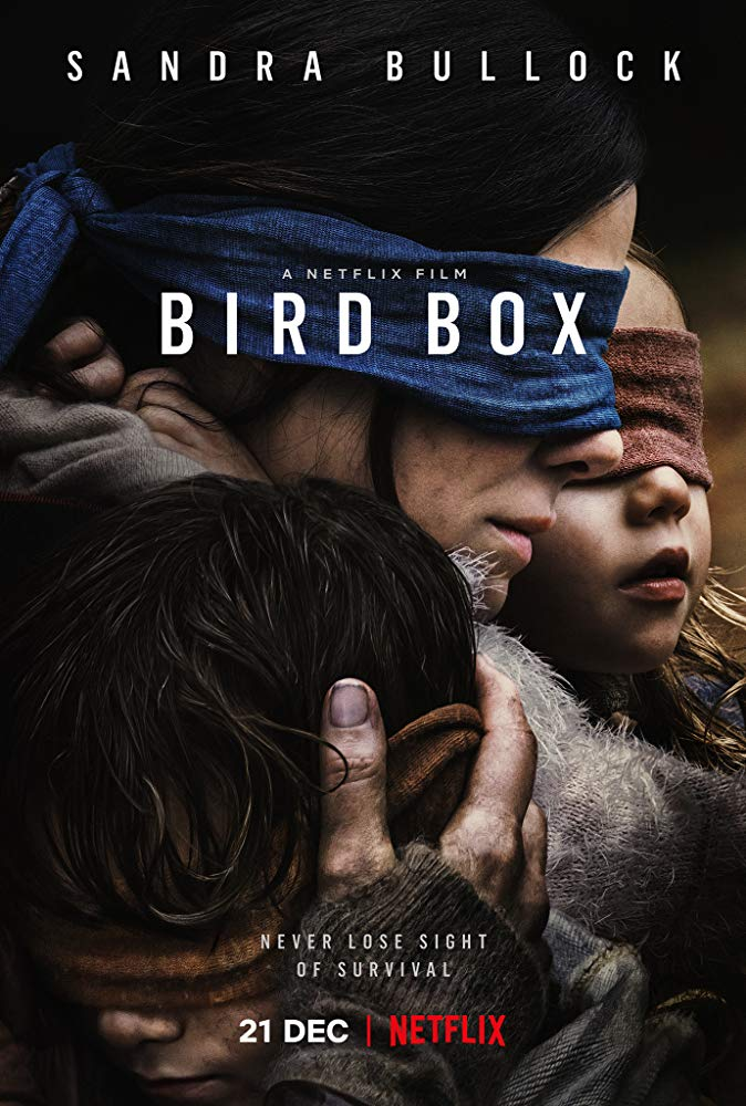 <em>Bird Box</em>, Sandra Bullock, 2018