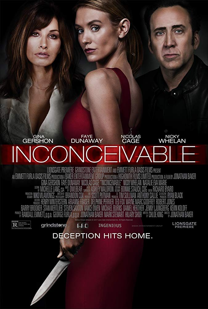<em>Inconceivable</em>, Nicky Whelan, 2017