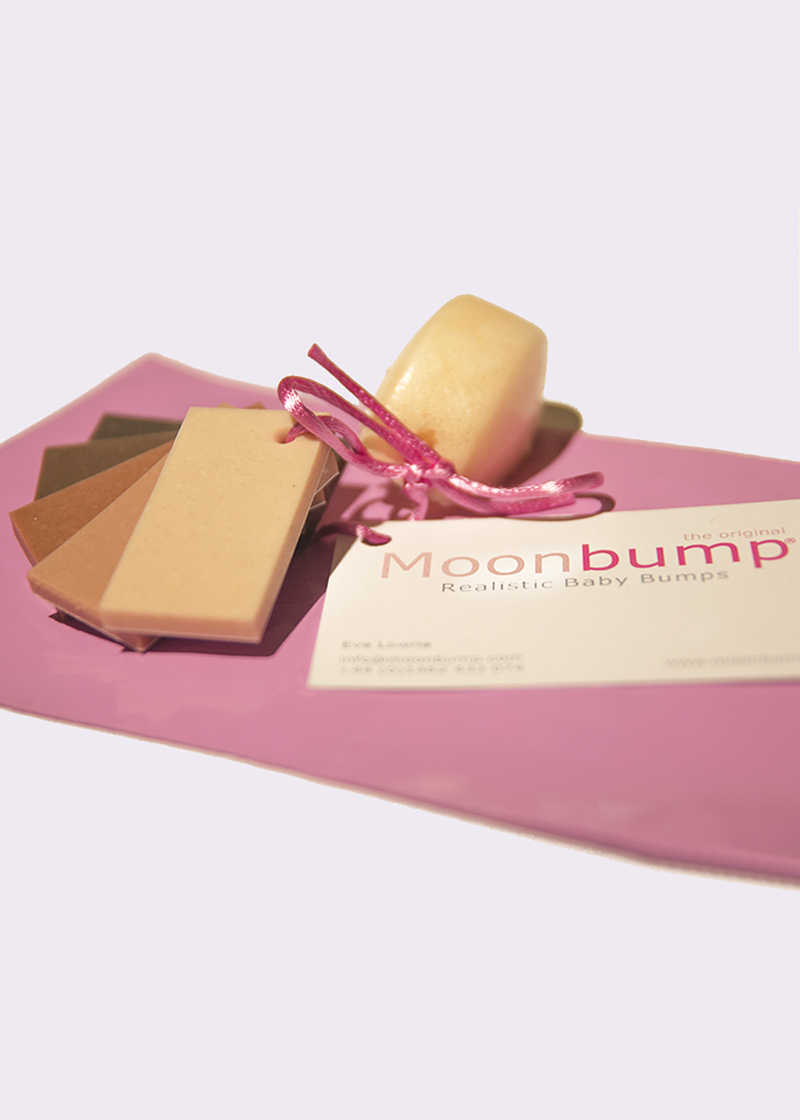 Sample Pack of Moonbump silicone swatches & foam