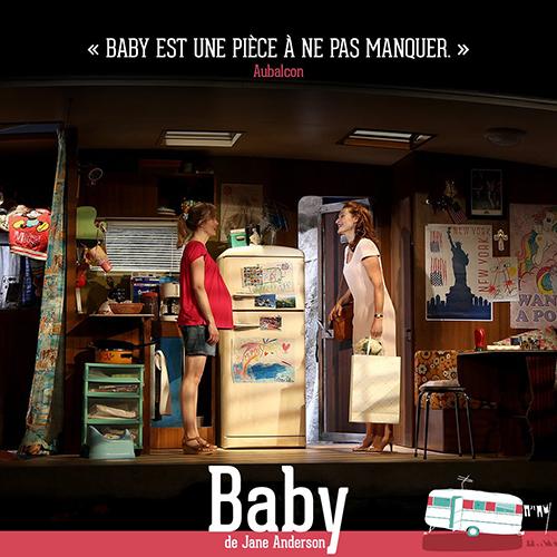 <em>Baby</em>, Theatre de l'Atelier Paris, 2018
