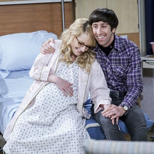 <em>Big Bang Theory</em>, CBS, Melissa Rauch, 2016