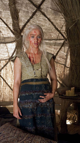 <em>Game of Thrones</em>, HBO, Emilia Clarke, 2011